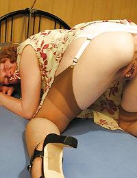Horny Averie latina mature milf heels beeg