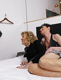 Three naughty mature beegladies go full lesbian
